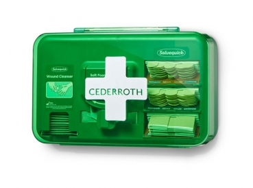 Cederroth Wound-Care-Dispenser BLUE Wundversorgungstation Schnittverletzungen
