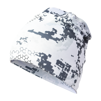 ALASKA 1795 ultraleichter Beanie in Camo BlindTech Invisible White