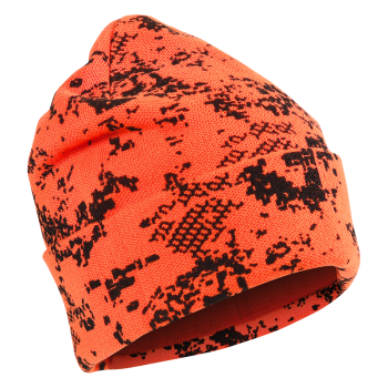 ALASKA 1795 warmer Merino Beanie Camo BlindTech Invisible in orange