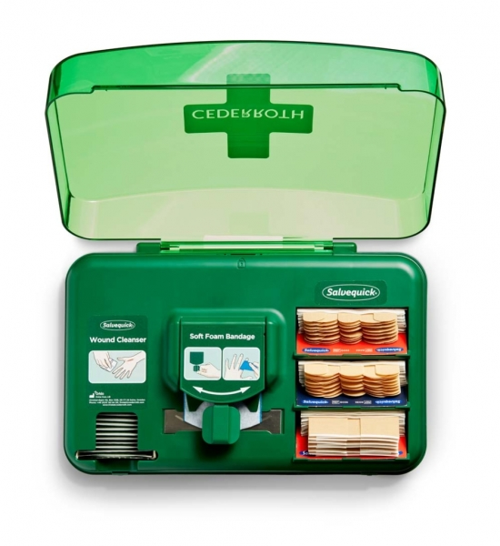 Wound Care Dispenser geöffnet