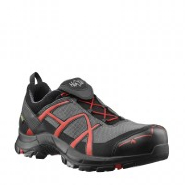 HAIX Sicherheitshalbschuhe Black Eagle Safety 40 Low grey-red S3